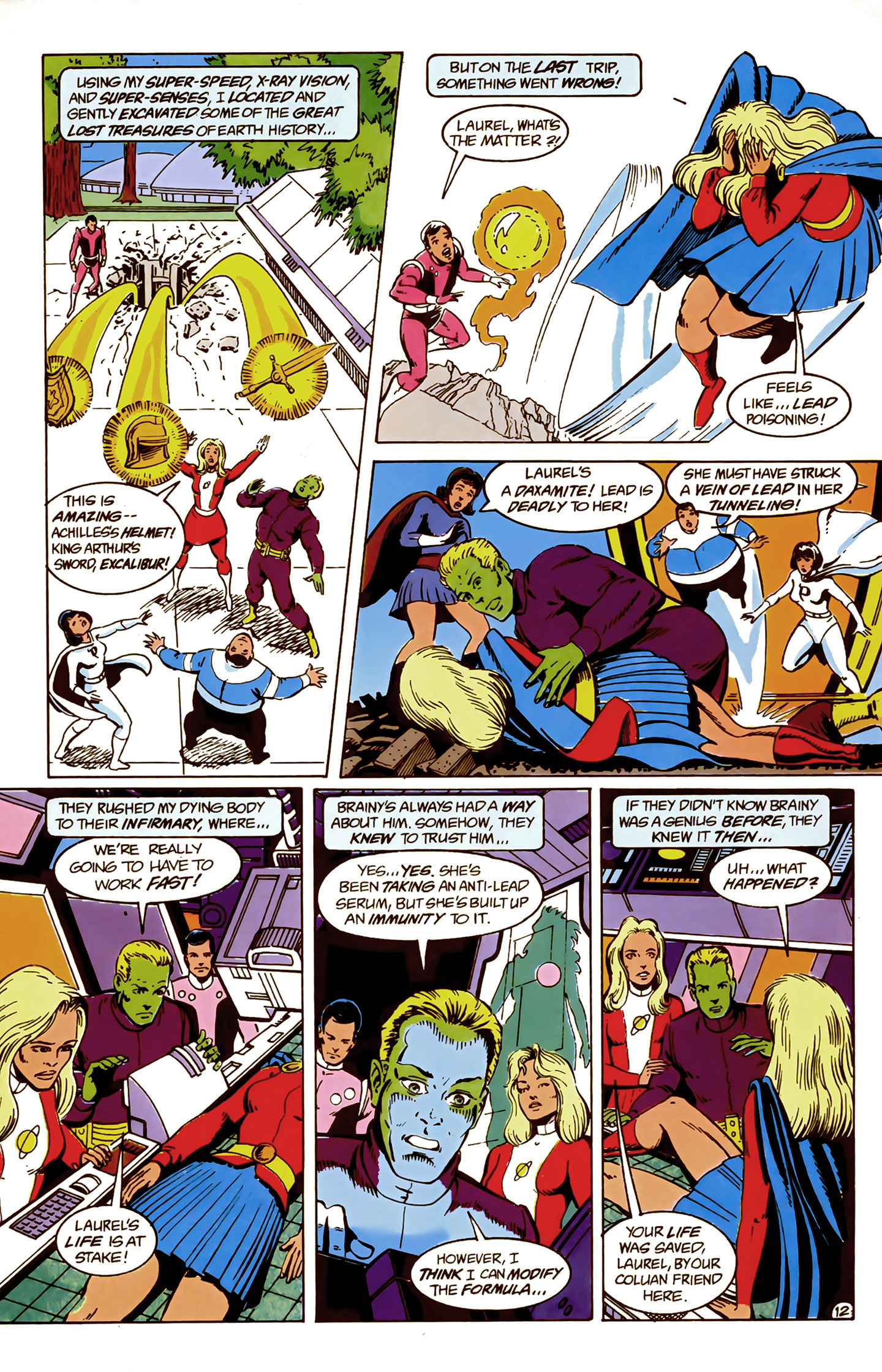 Legion of Super-Heroes (1989) 9 Page 12
