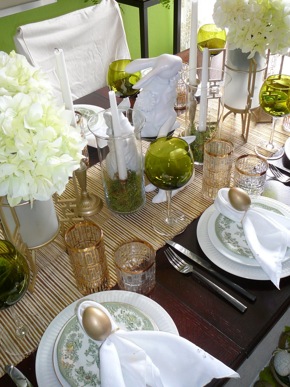 Focal Point Styling Tablestyling Easter Elegance Touched With Gold