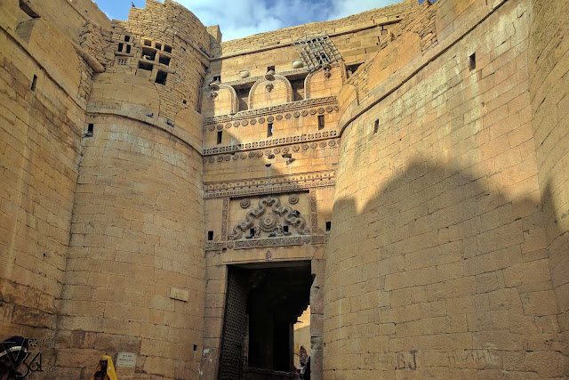 fort gate, Jaisalmer