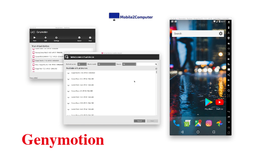 Genymotion best Android emulator for PC