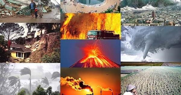 Kliping 10 Macam Bencana Alam di Indonesia beserta gambarnya