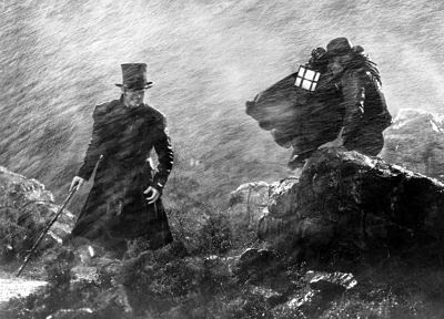 David Niven on the moors
