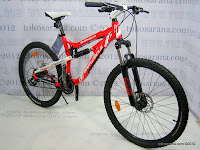 3 Sepeda Gunung Wimcycle Boxer 3.0 24 Speed Shimano Full Suspension 26 Inci 3