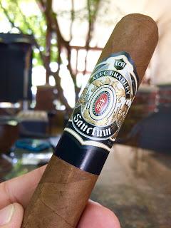 Alec Bradley Sanctum Gordo cigar 1