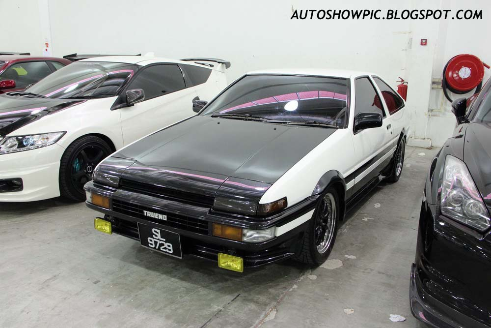 autoshow pic initial d takumi 39 s ae86 replica. Black Bedroom Furniture Sets. Home Design Ideas