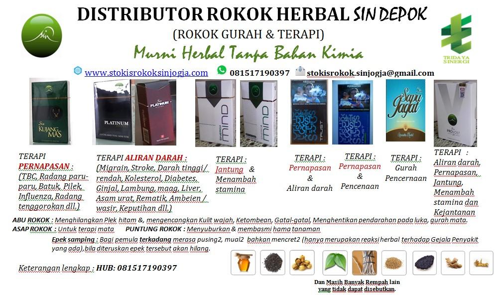 Peluang Bisnis Menjadi Distributor Rokok Herbal 117 Seluruh