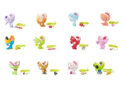 Маленькие игрушки с огромными зубами Little Big Bites
