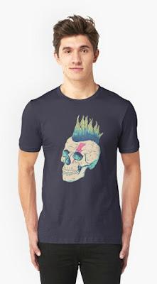Punk Skull T-shirt for Men
