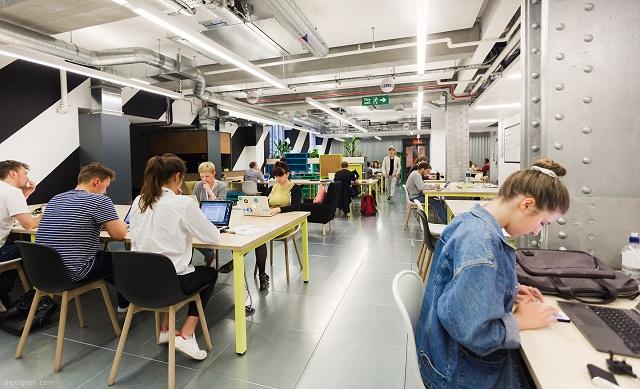 coworking space, ruang kantor, kantor