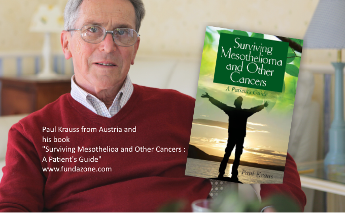 Ideaz Paul Kraus From Austria And Barry Knowles From Australia Longest Survivors Of Mesothelioma