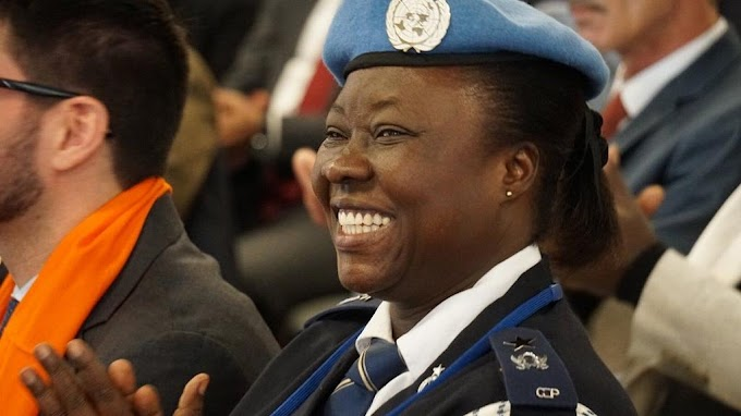 Peacekeeping in Somalia earns Ghanaian policewoman top UN award