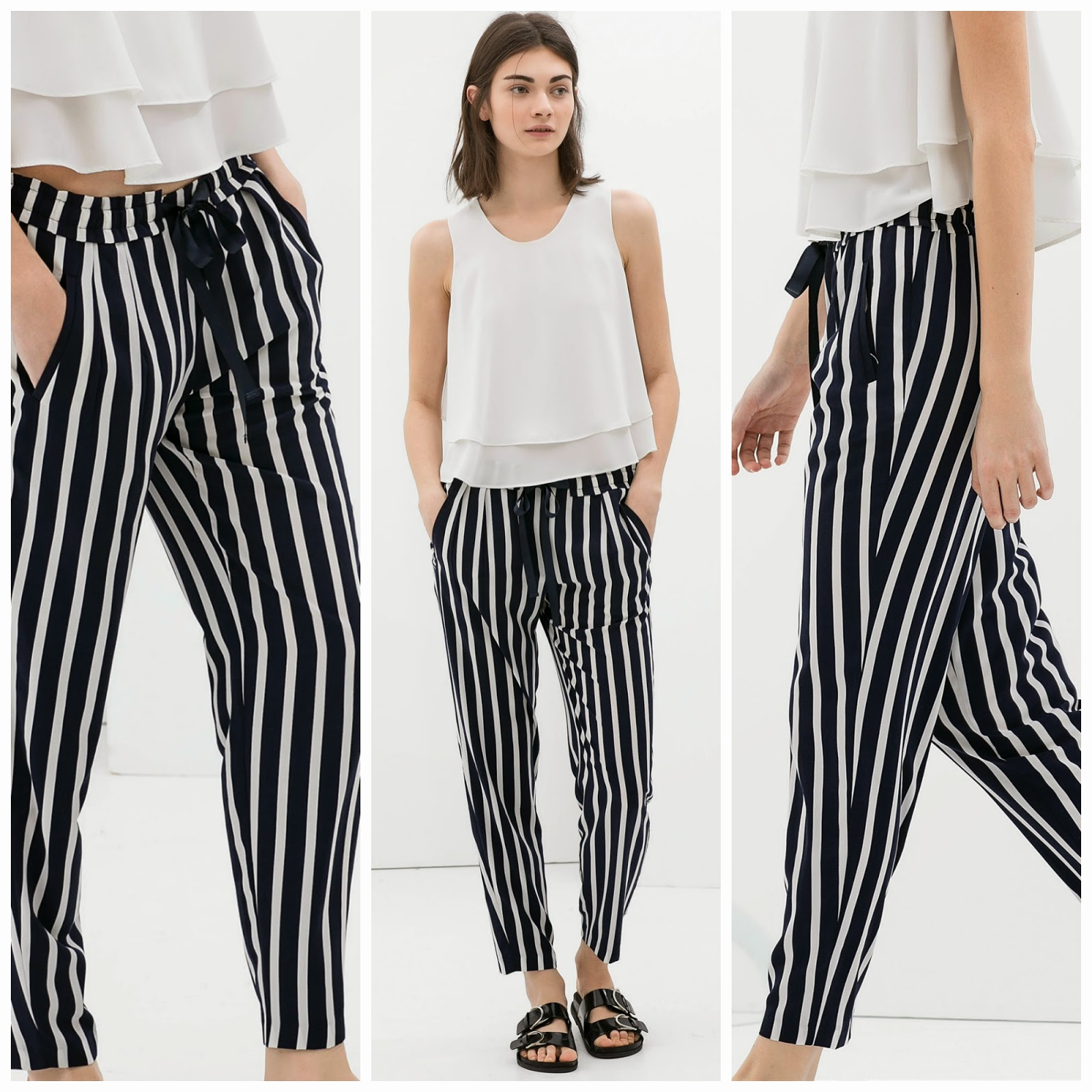PICK OF THE WEEK: Striped Trousers (Zara)