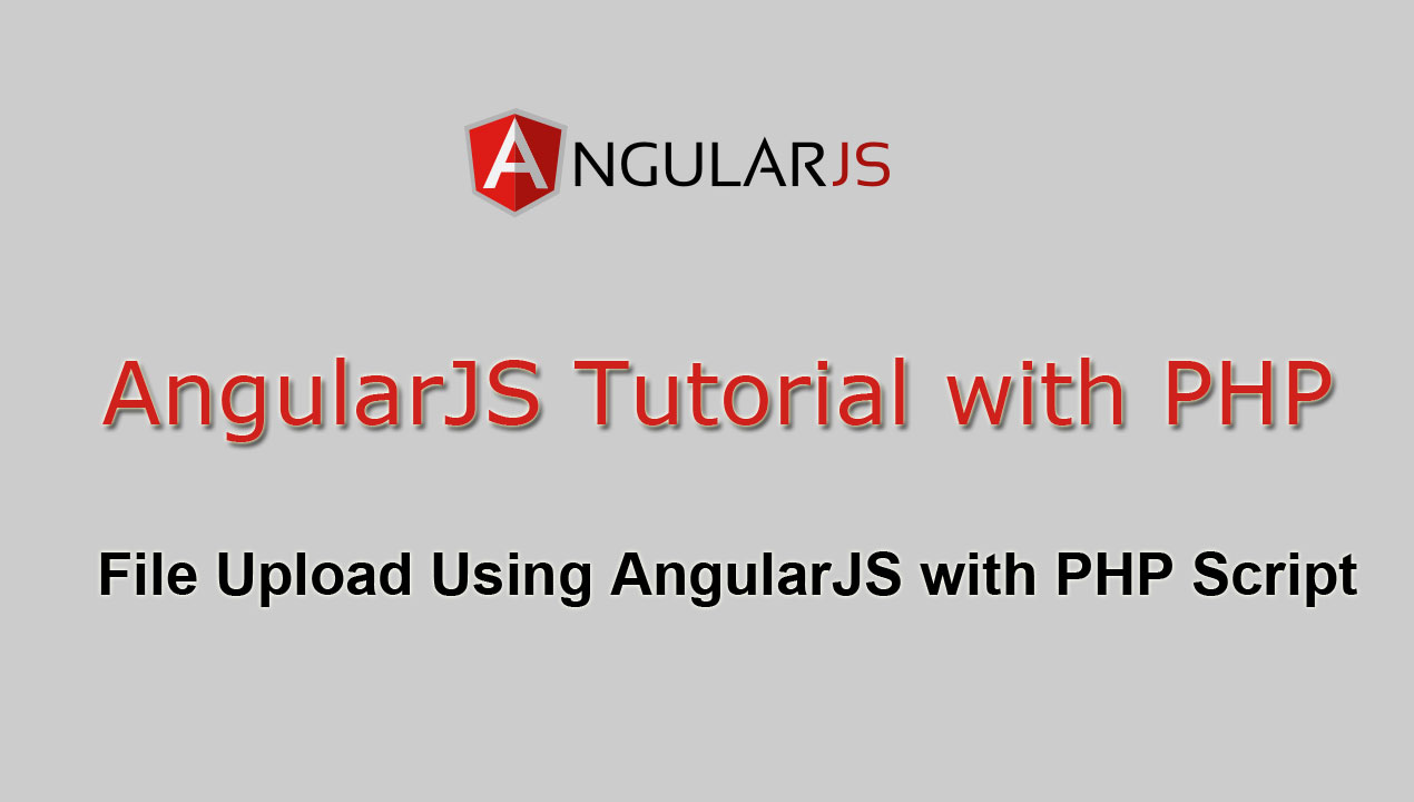 File Upload Using AngularJS with PHP Script | Webslesson