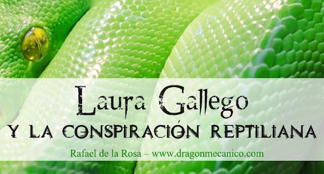 Laura Gallego y la conspiración reptiliana