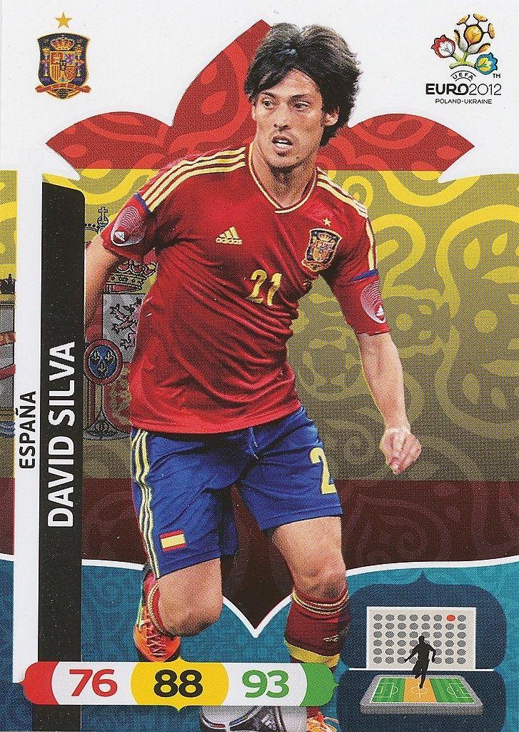 David Villa  Master Panini Adrenalyn XL Euro 2012