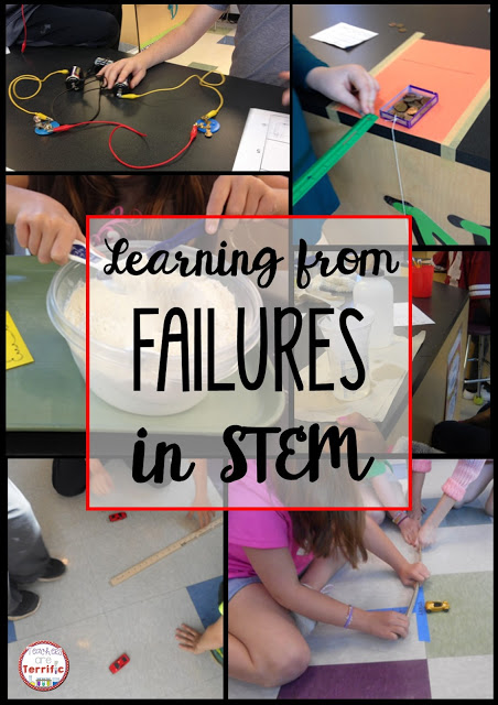 STEM Challenges: Hands-on learning is the best way, but sometimes things don't go as planned. Read more on this blog post all about those times when things went awry!