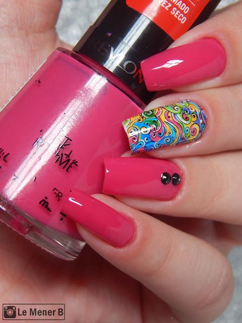 nail art para o carnaval