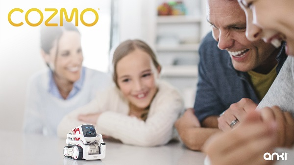 Anki's Cozmo robot launched with Artificial Intelligence (AI)