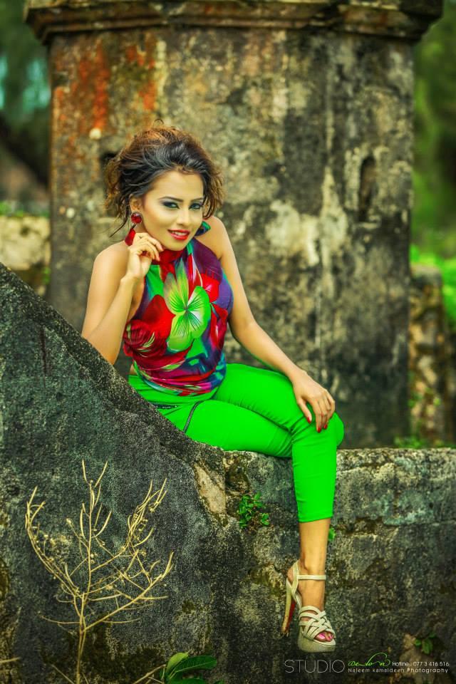 Shanudri Priyasad - Sri Lankan Actress And Models