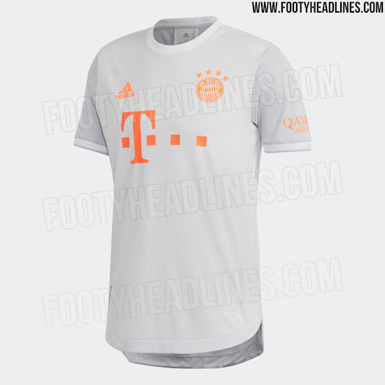 Nueva camiseta visitante FC Bayern München