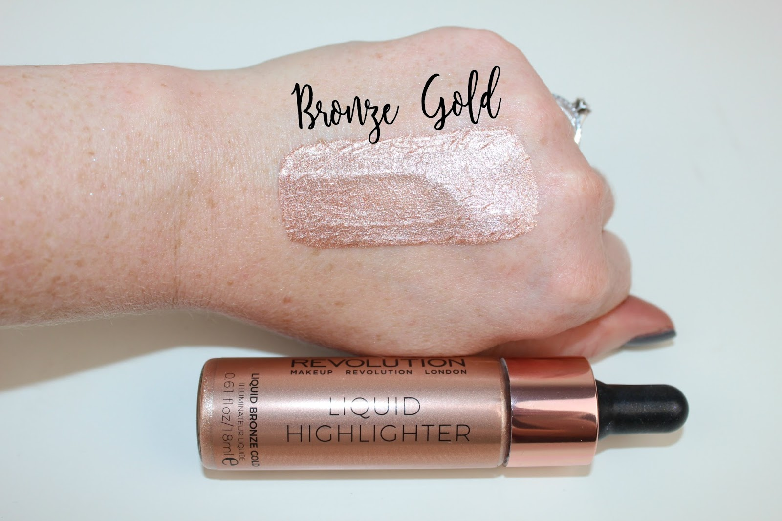 Makeup Revolution Liquid Highlighter Review Amp Swatches