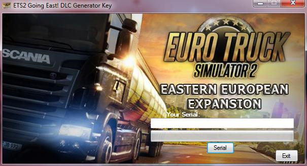 ETS2 Going East! DLC Generator Key ~ NewGames