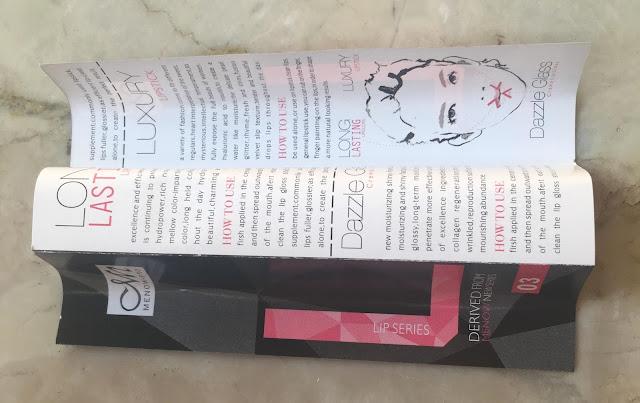 Menow kissproof lipstick