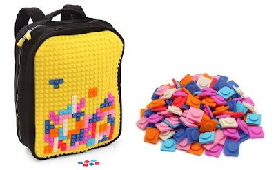 Mochila estilo Lego