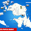 Peta Provinsi Papua Barat Lengkap 12 Kabupaten 1 Kota