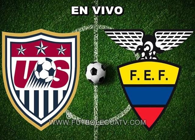 Estados Unidos y Ecuador protagonizan un encuentro en vivo a partir de las 19:00 horario local a jugarse en el campo Orlando City por un amistoso internacional, siendo el árbitro principal a mencionar con transmisión de los canales autorizados DIRECTV Sports y Univisa.