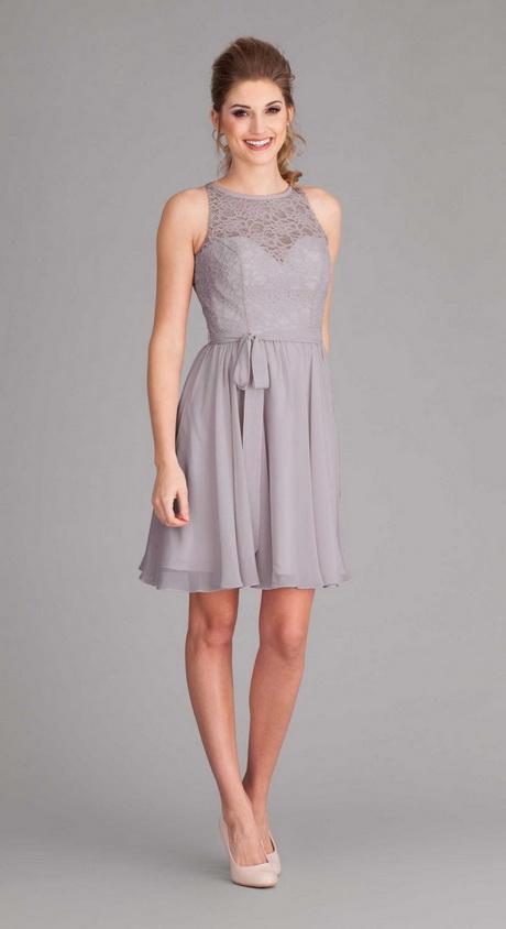 Vestido formal gris