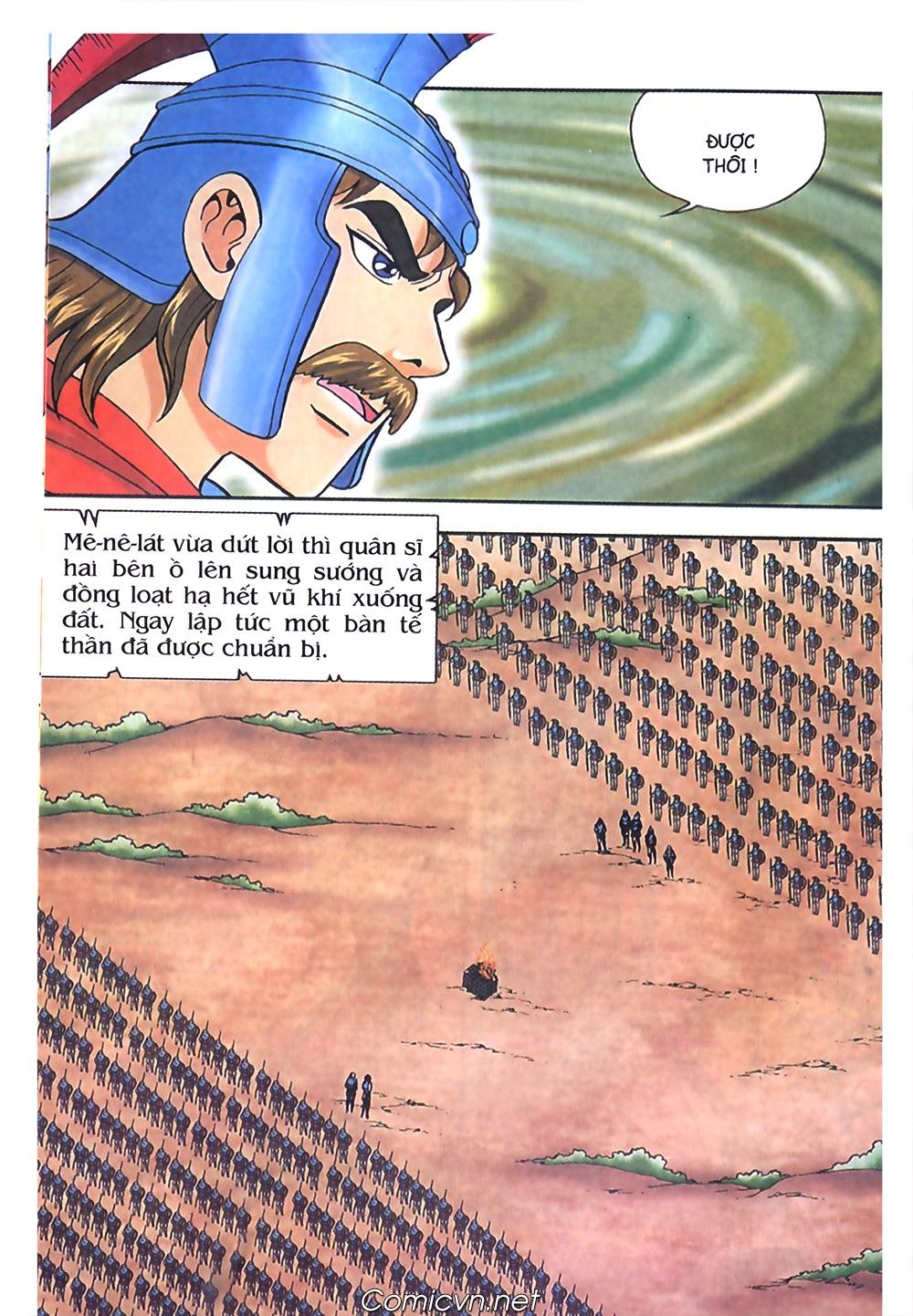 Thần Thoại Hy Lạp Màu - Chapter 57: Cuộc chiến định mệnh - Pic 27