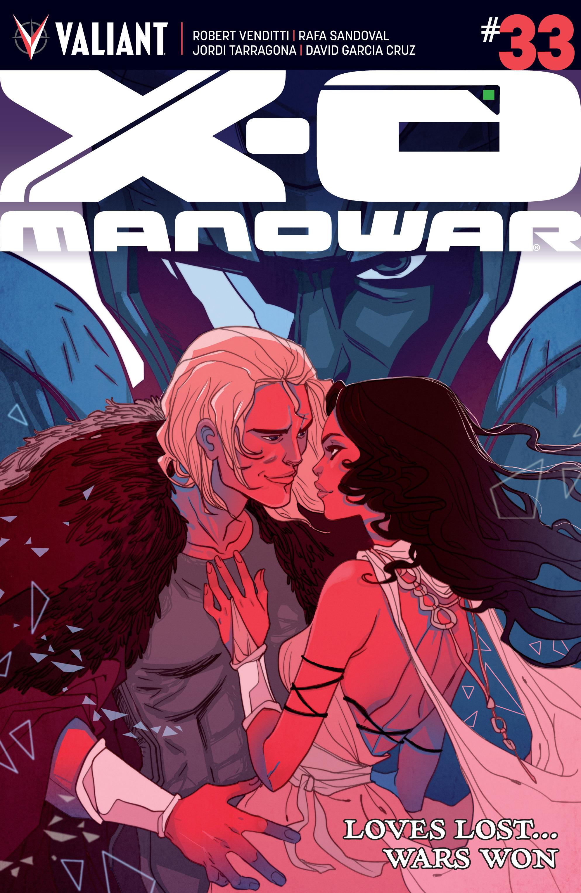 X-O Manowar (2012) 33 Page 1