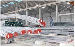 Tăng tốc tiến độ xây dựng công trình cuối năm tài khóa kích thích nhu cầu tiêu thụ thép dài ở Ấn Độ