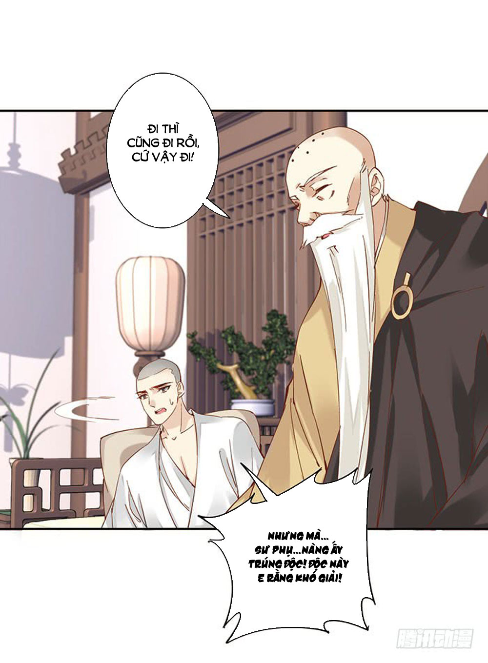 Thiền Tâm Vấn Đạo chap 36 - Trang 1
