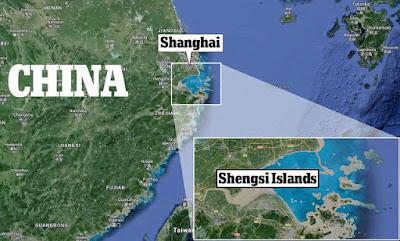 Un pueblo en China es invadido por la hiedra.