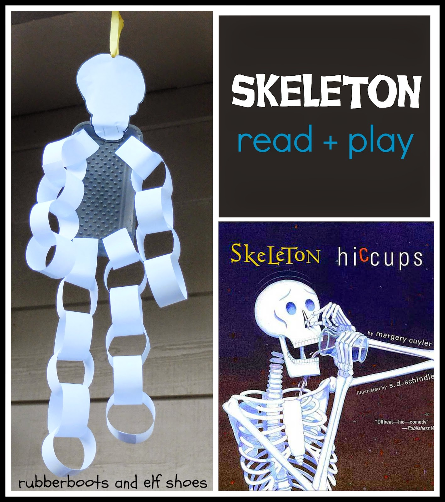 Skeleton Hiccups A Halloween Book And Activity
