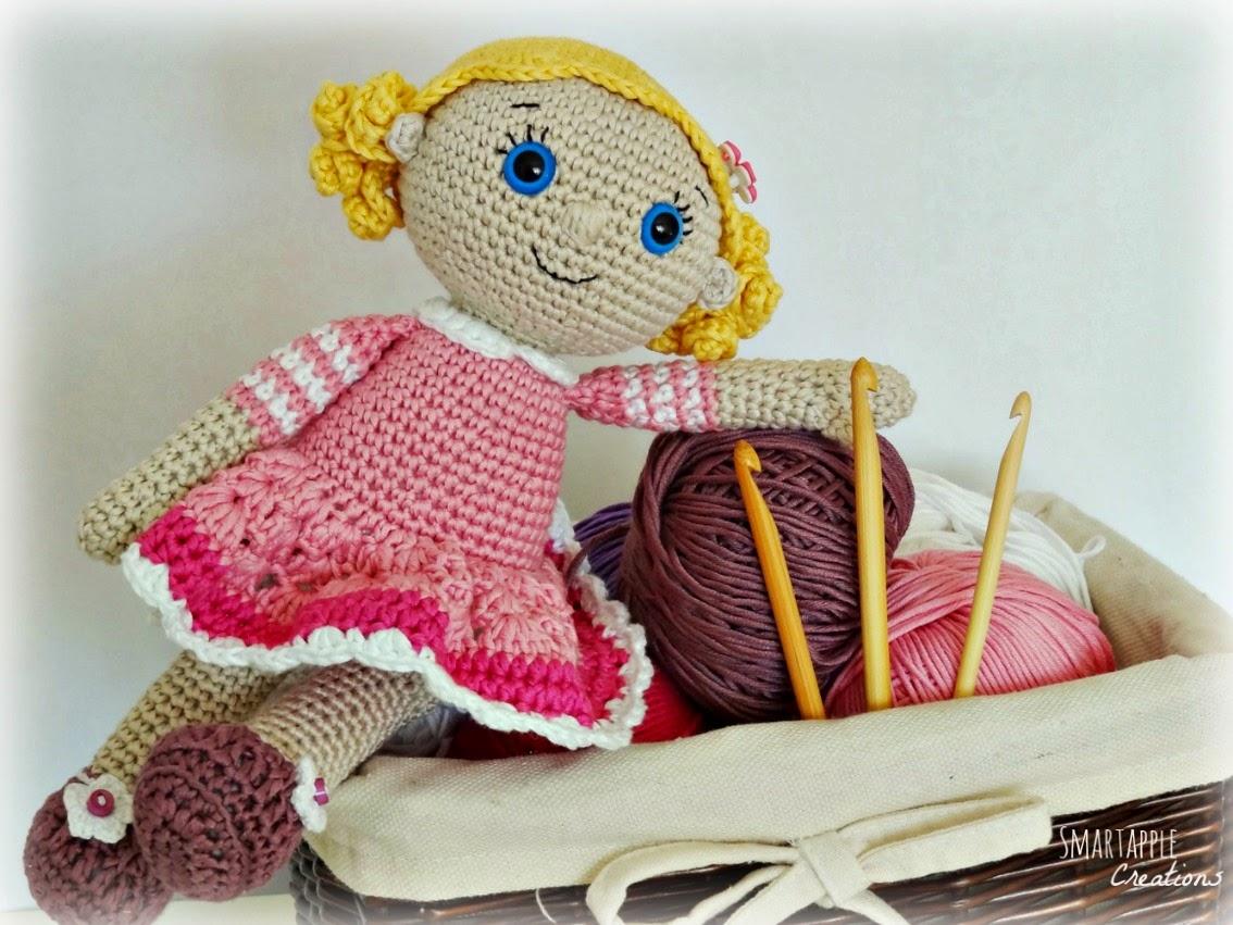EMMA Crochet Doll - Amigurumi doll - Stuffed doll - Handmade doll ... | 851x1134