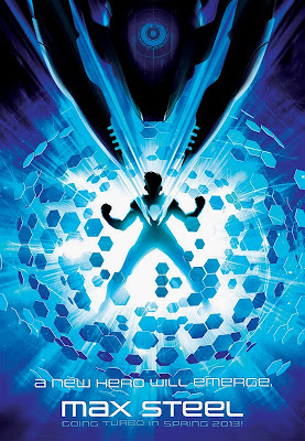 Max Steel Animated - 2013 Poster