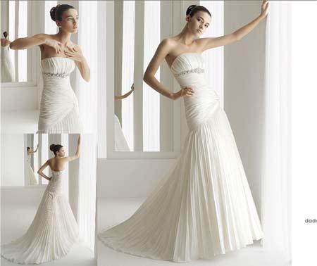 f40ea5a06 Es uno de los más utilizados en vestidos de novia ya que además de  sencillo