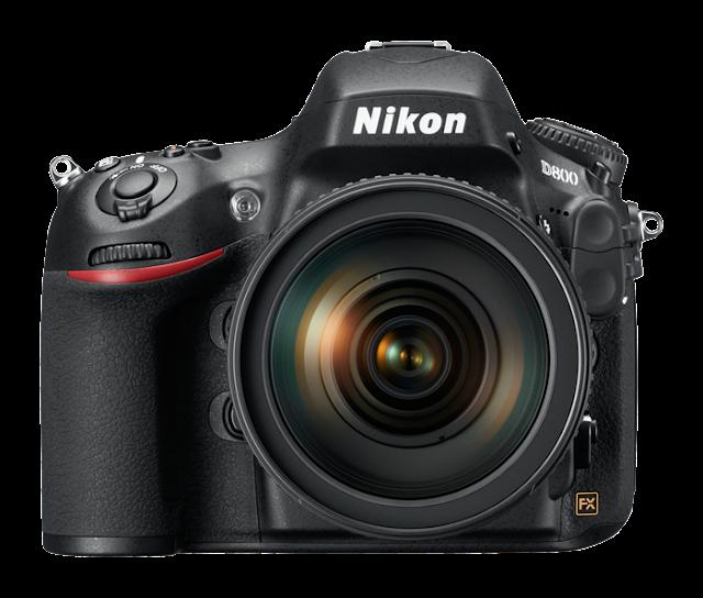 Fotografia della Nikon D800