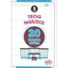 Editör 8.Sınıf TEOG İngilizce 20 Deneme Sınavı (2016)