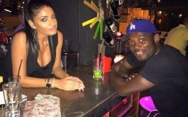Michael Essien dumps sultry Greek girlfriend