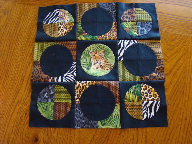 Windham Jungle Minis mini quilt