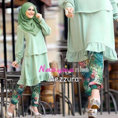 80 Model Terbaru Baju Muslim Untuk Wanita Kurus Modis Dan