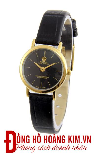 Đồng hồ nữ Rolex dây da giá rẻ dưới 1 triệu