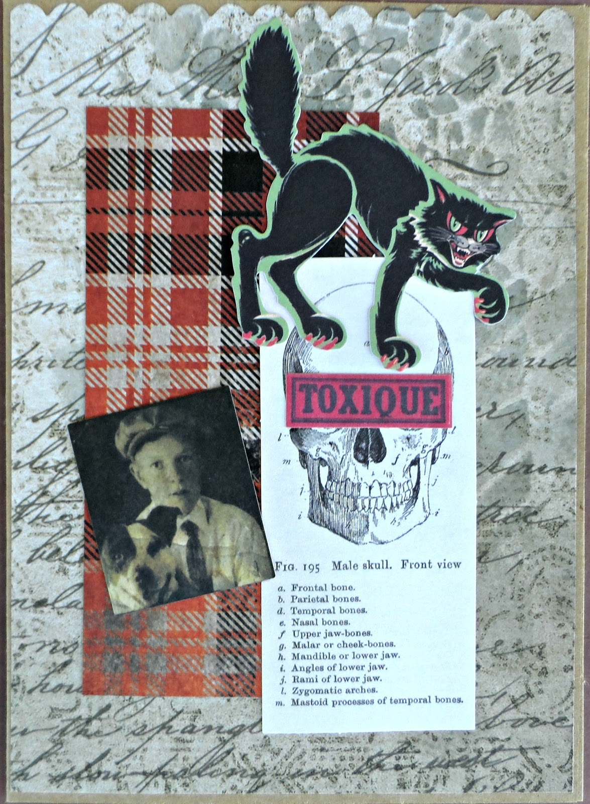 Captivating Tim Holtz Idea Ology Halloween Cling Stamps