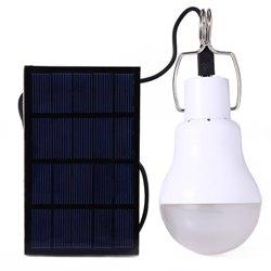 Купить лампочку с солнечной батареей
