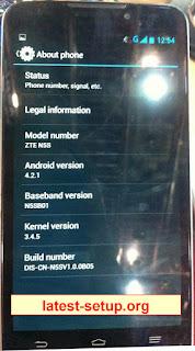 ZTE N5S New Preloader Firmware Flash File Download 01