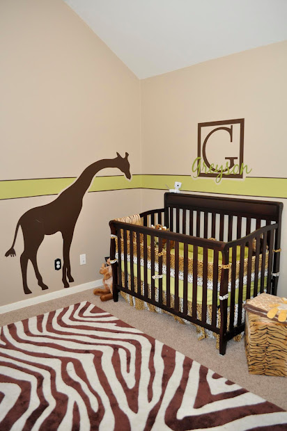Janey Mac Customer - Safari Themed Nursery